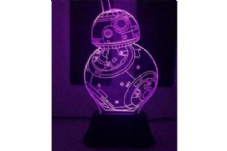 Starwars BB-8 LED Changing Light